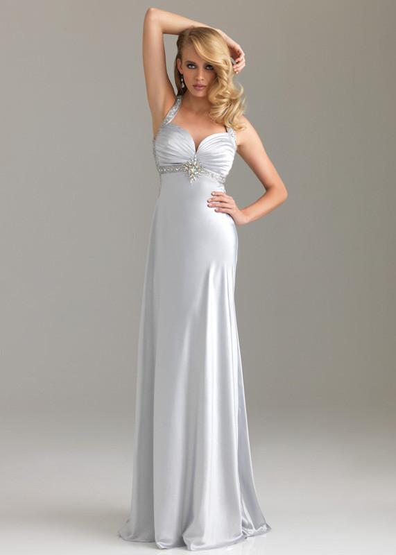 robe de soirée blanche 2013